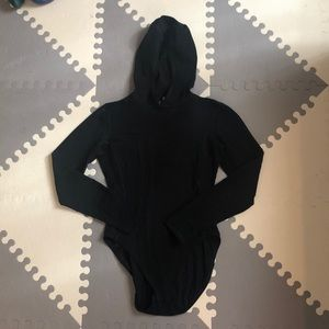 J. Crew Lycra Body Suit with Hood